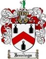 Thumbnail Jennings Family Crest Jennings Coat of Arms Digital Download