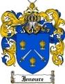 Thumbnail Jenoure Family Crest Jenoure Coat of Arms Digital Download