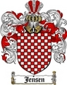Thumbnail Jensen Family Crest / Jensen Coat of Arms