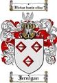 Thumbnail Jernigan Family Crest  Jernigan Coat of Arms