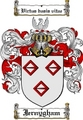 Thumbnail Jernygham Family Crest  Jernygham Coat of Arms