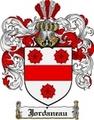 Thumbnail Jordaneau Family Crest  Jordaneau Coat of Arms