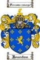Thumbnail Jourdon Family Crest Jourdon Coat of Arms Digital Download