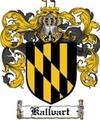 Thumbnail Kallvart Family Crest  Kallvart Coat of Arms