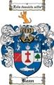 Thumbnail Kean Family Crest  Kean Coat of Arms