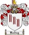 Thumbnail Keeling Family Crest Keeling Coat of Arms Digital Download