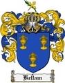 Thumbnail Kellam Family Crest Kellam Coat of Arms Digital Download