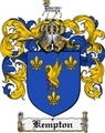 Thumbnail Kempton Family Crest Kempton Coat of Arms Digital Download