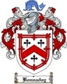 Thumbnail Kennaday Family Crest  Kennaday Coat of Arms