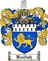 Thumbnail Kentish Family Crest  Kentish Coat of Arms