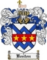 Thumbnail Kenton Family Crest Kenton Coat of Arms Digital Download