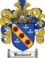 Thumbnail Kenward Family Crest Kenward Coat of Arms Digital Download