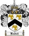 Thumbnail Kestell Family Crest Kestell Coat of Arms Digital Download