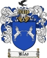 Thumbnail Kidd Family Crest Kidd Coat of Arms Digital Download