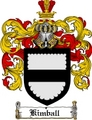 Thumbnail Kimball Family Crest  Kimball Coat of Arms