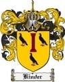 Thumbnail Kinder Family Crest Kinder Coat of Arms Digital Download