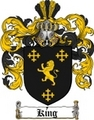 Thumbnail King Family Crest / King Coat of Arms