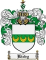 Thumbnail Kirby Family Crest Kirby Coat of Arms Digital Download