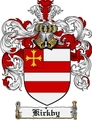 Thumbnail Kirkby Family Crest Kirkby Coat of Arms Digital Download