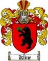 Thumbnail Kline Family Crest  Kline Coat of Arms