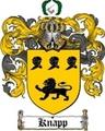 Thumbnail Knapp Family Crest  Knapp Coat of Arms