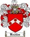 Thumbnail Knolles Family Crest  Knolles Coat of Arms