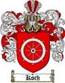 Thumbnail Koch Family Crest  Koch Coat of Arms