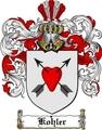 Thumbnail Kohler Family Crest  Kohler Coat of Arms