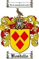Thumbnail Kostello Family Crest  Kostello Coat of Arms