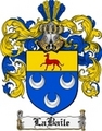 Thumbnail Labaile Family Crest  Labaile Coat of Arms