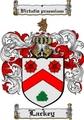 Thumbnail Lackey Family Crest  Lackey Coat of Arms