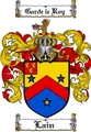 Thumbnail Lain Family Crest  Lain Coat of Arms