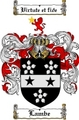 Thumbnail Lambe Family Crest  Lambe Coat of Arms
