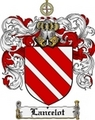 Thumbnail Lancelot Family Crest Lancelot Coat of Arms Digital Download
