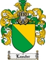 Thumbnail Lander Family Crest Lander Coat of Arms Digital Download
