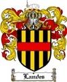 Thumbnail Landes Family Crest  Landes Coat of Arms