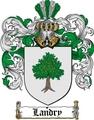 Thumbnail Landry Family Crest  Landry Coat of Arms