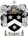Thumbnail Langdale Family Crest Langdale Coat of Arms Digital Download