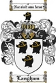 Thumbnail Langham Family Crest Langham Coat of Arms Digital Download