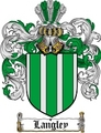 Thumbnail Langley Family Crest  Langley Coat of Arms