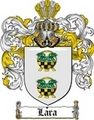 Thumbnail Lara Family Crest  Lara Coat of Arms