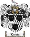 Thumbnail Larkin Family Crest Larkin Coat of Arms Digital Download