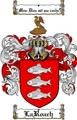 Thumbnail Laroach Family Crest  Laroach Coat of Arms
