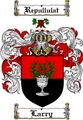 Thumbnail Larry Family Crest  Larry Coat of Arms