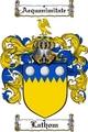 Thumbnail Lathom Family Crest  Lathom Coat of Arms