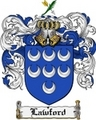 Thumbnail Lawford Family Crest Lawford Coat of Arms Digital Download