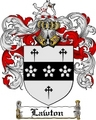 Thumbnail Lawton Family Crest  Lawton Coat of Arms