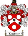 Thumbnail Leadbeter Family Crest  Leadbeter Coat of Arms