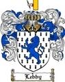 Thumbnail Lebby Family Crest  Lebby Coat of Arms