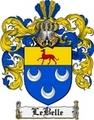 Thumbnail Lebelle Family Crest  Lebelle Coat of Arms